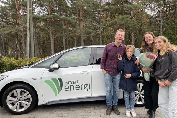 Geir Bjelland Pedersen vant Smartbilen for ett år!